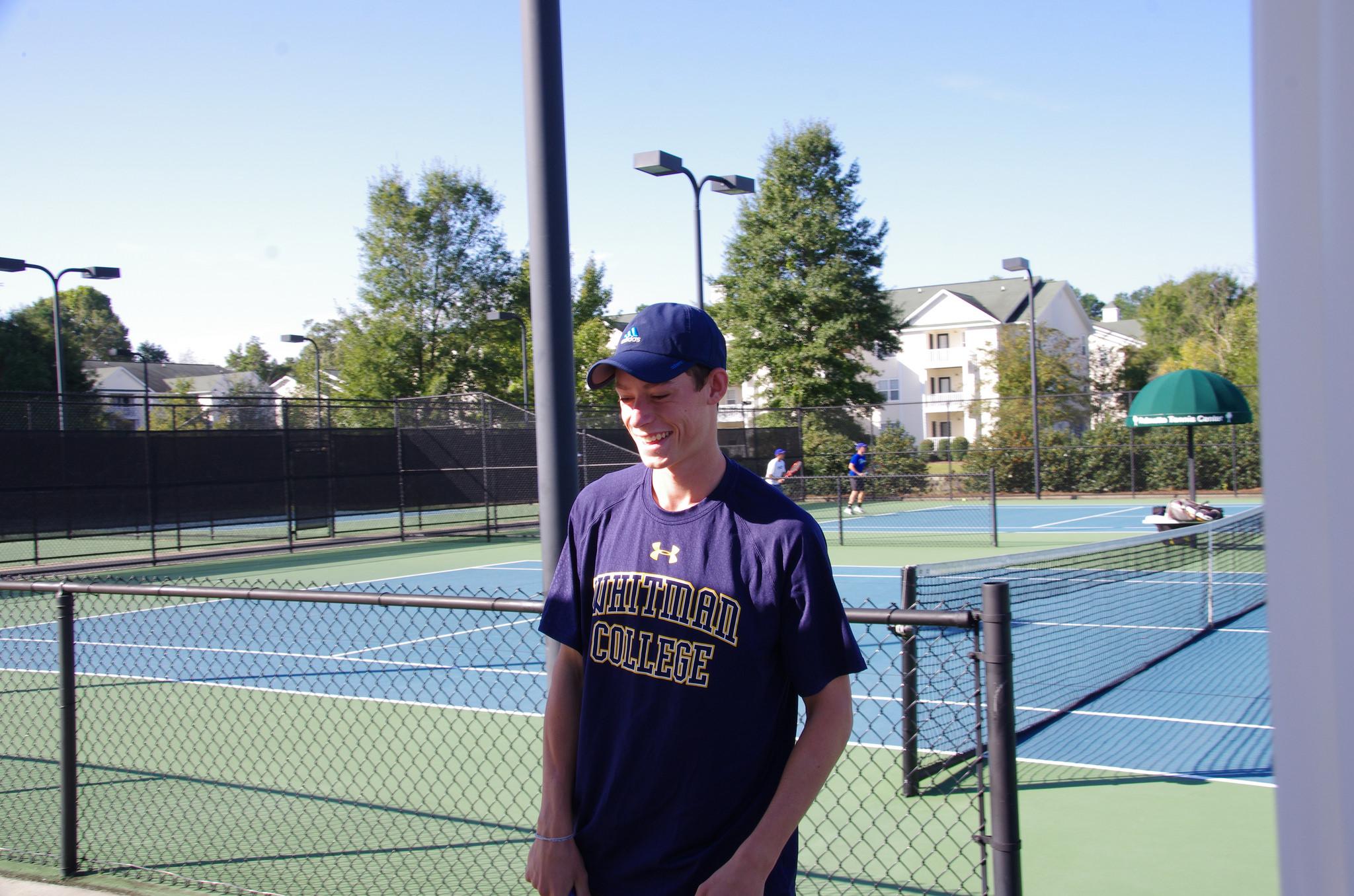 Freshman Zach Hewlin